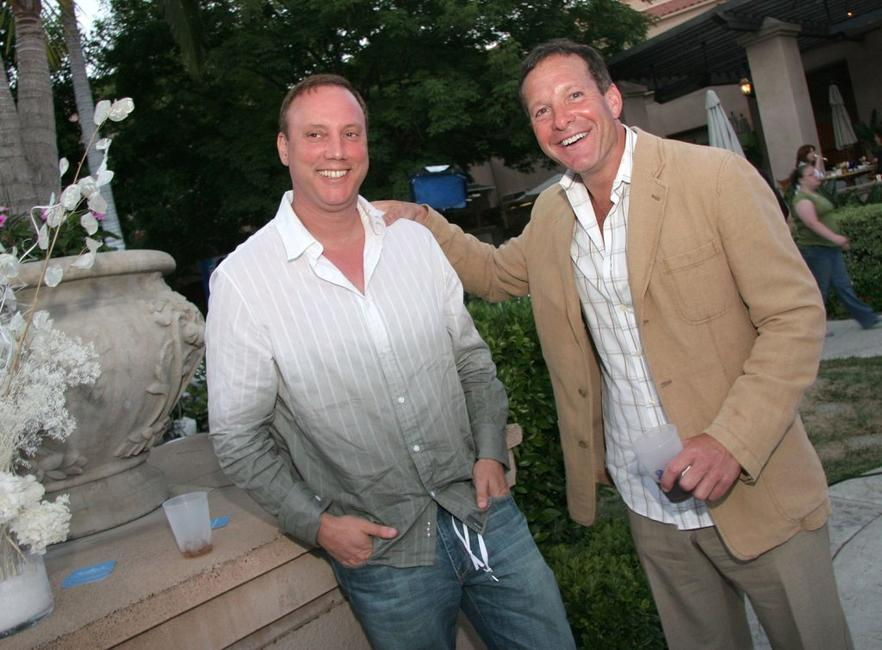 Steve Guttenberg and Rick Fine at the Hallmark Channel 2006 summer TCA party.